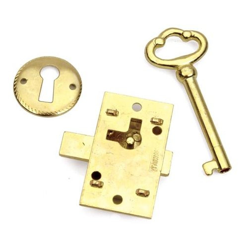 Brass Lock And Key Surface Mount 70074515