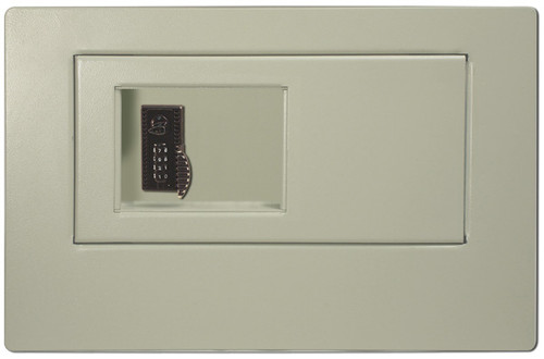 HPC WS-100-4W Wall Safe With 4-Wheel Combination Lock