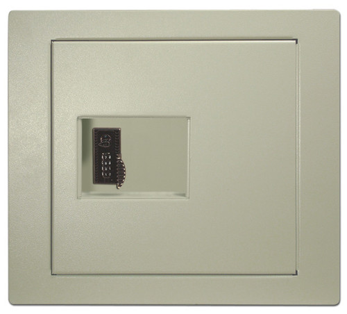 HPC WS-200-4W Large Wall Safe w/4-Wheel Combination Lock