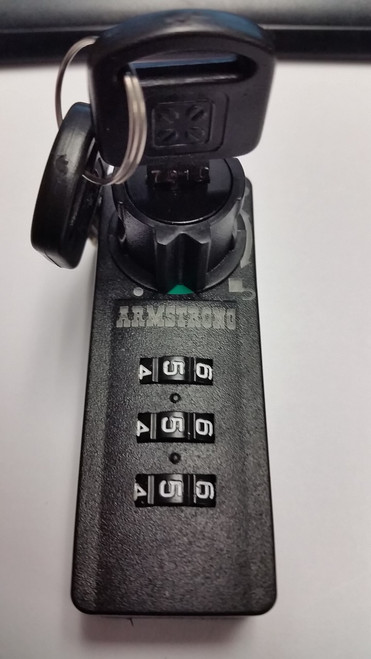 Armstrong 3 Digit Combination Ratchet Lock  DL-BK470-7010