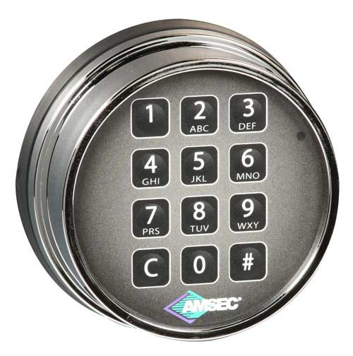 Chrome Keypad