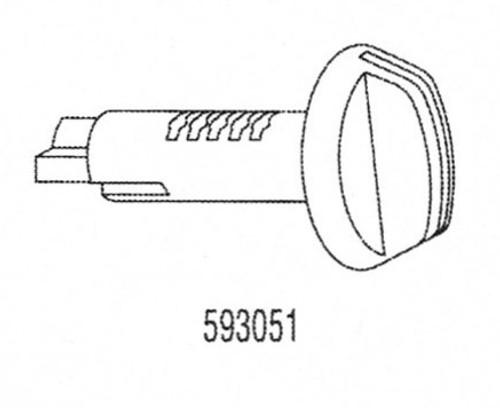 Strattec 593051 GM Glove Box/Console Plug