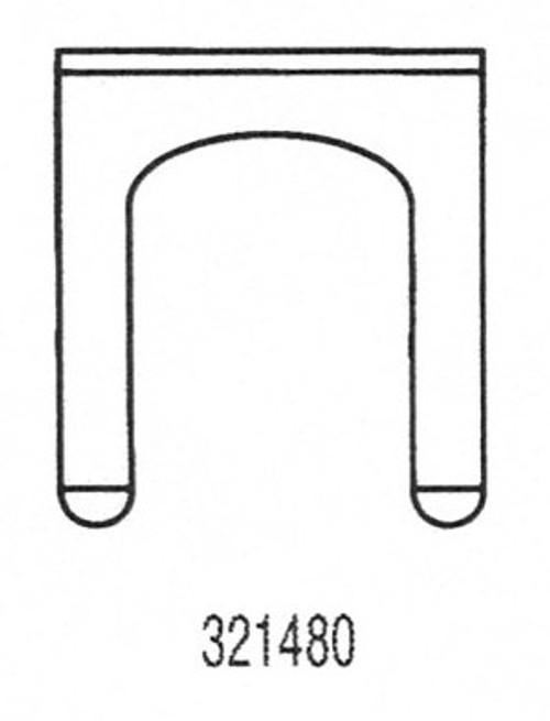 Strattec 321480 Universal Door Clip
