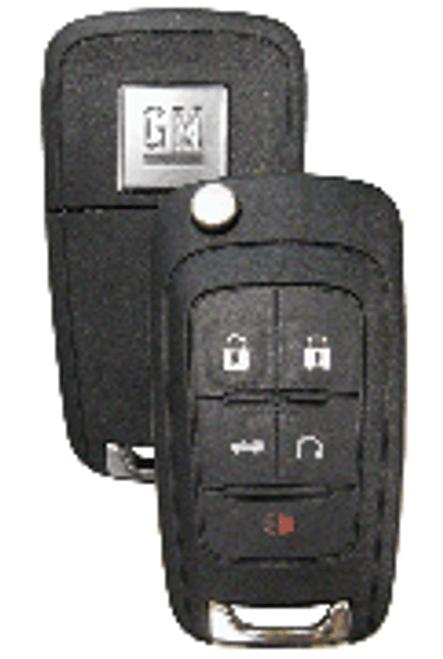 Strattec 5913397 GM 5 Button Remote Flip Key