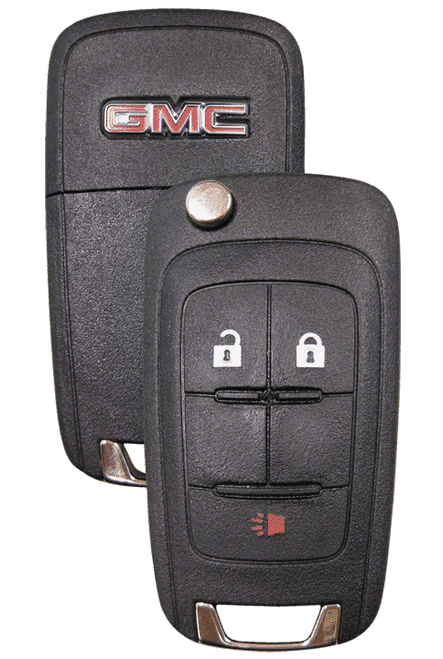 Strattec 5913596  GMC 3 Button Remote Flip Key