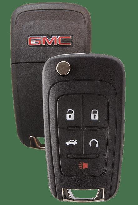 Strattec 5912548  2010 GMC Terrain 5 Button Remote Flip Key