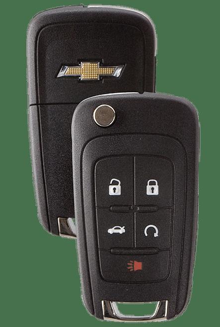 Strattec 5912545 2010 & 2011 Chevy Camaro 5 Button Remote Flip Key