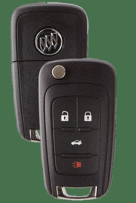 Strattec 5912555 Buick Lacrosse/Regal 4 Button Remote Flip Key