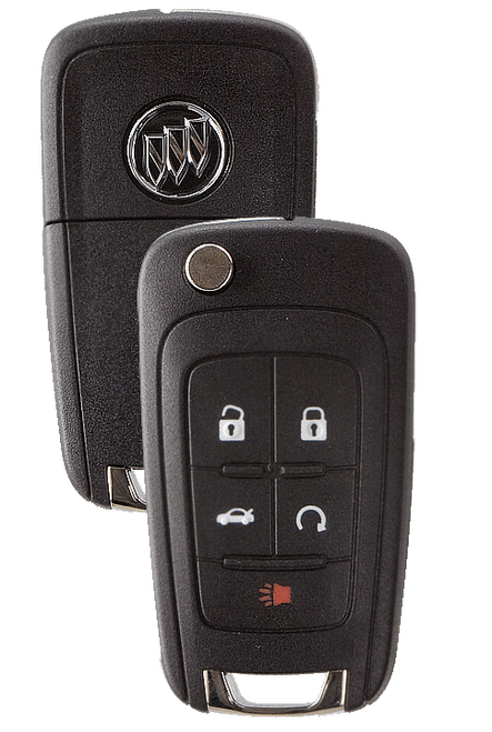 Strattec 5912559 Buick Lacrosse/Regal 5 Button PEPS Remote Flip Key