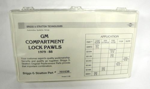 Strattec Briggs & Stratton 701038 GM Compartment Lock Pawls