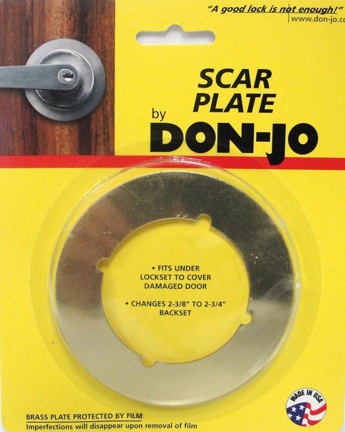 Don Jo Scar Plate Stainless Steel SP 135 630