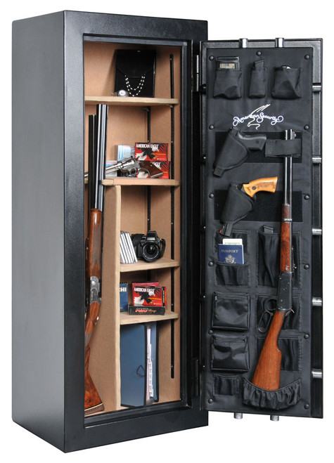 Amsec TF5924 Gun Safe With New E5 Electronic Lock  & Door Storage