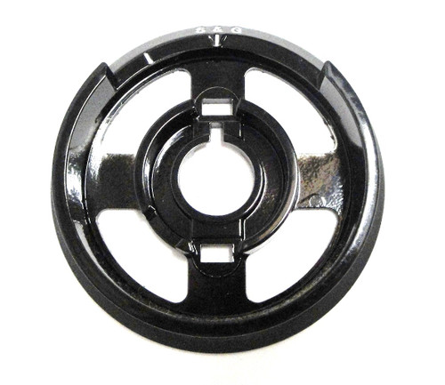 R167-002 Black & White Dial Ring
