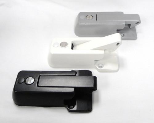 RV Bar Lock Black, Gray, or White Powdercoat