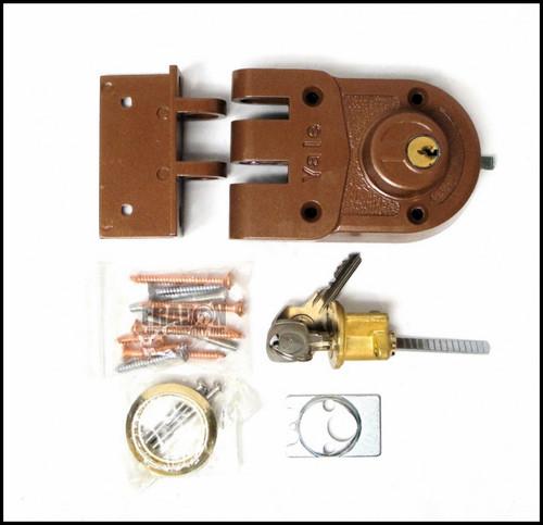 Yale 197 1/4 Double Cylinder Boltlock Jimmyproof Lock Standard Strike