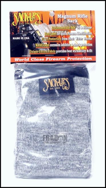 "Sack Ups #110 Camo Grey 40"" Magnum Rifle Sock"