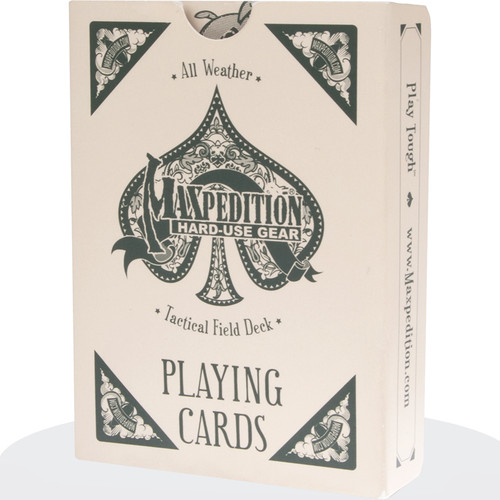 Maxpedition Tactical All Weather Playing Cards