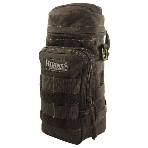 Maxpedition 0325B Tactical Black Water Bottle Bag Pouch