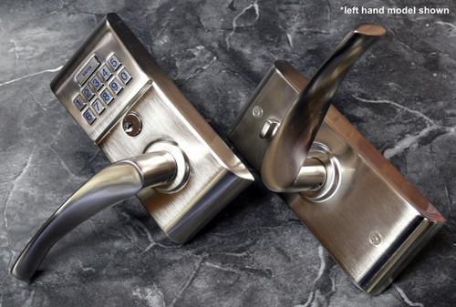 Emtek E2020 Triton Keypad LeverSet Satin Nickel Finish