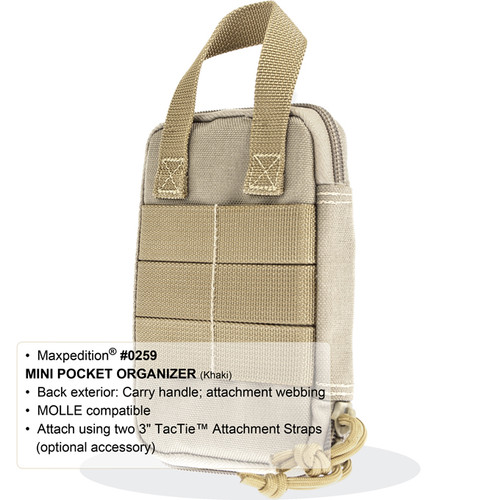 Maxpedition 0259K Mini Pocket Organizer