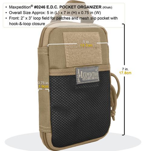 Maxpedition 0246 Pocket Organizer