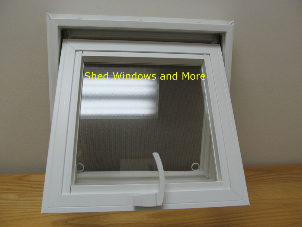 16 Quot X 16 Quot Awning Insulated Glass Vinyl Window Shed