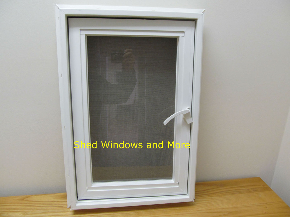 24 Quot X 16 Quot Awning Insulated Glass Vinyl Window Shed