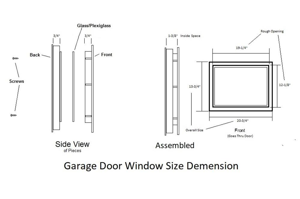 Single Pane Garage Door Window Shed Windows And More Inc