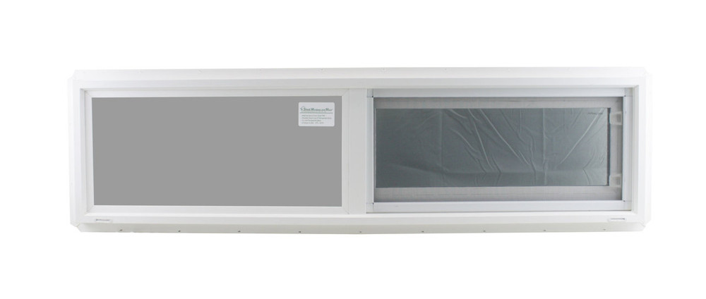 "Double Pane TEMPERED Glass Horizontal 48"" x 12"""