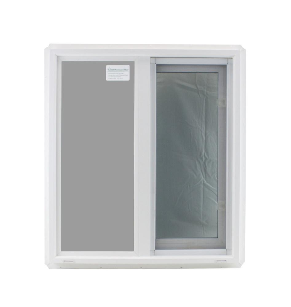 "Double Pane TEMPERED Glass Horizontal 24"" x 27"""