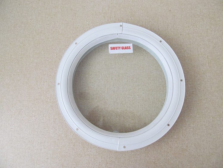 "10"" Round Window with Safety Glass"