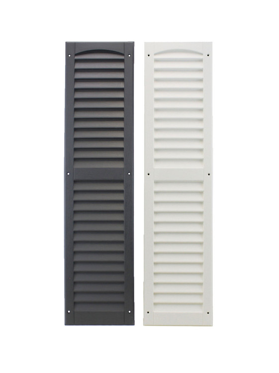 """9"""" x 36"""" Shutters Colors - Black or White"""