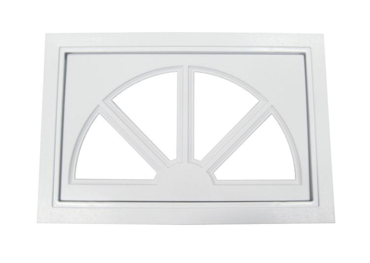 Garage Door Window Sunburst Design (1007)