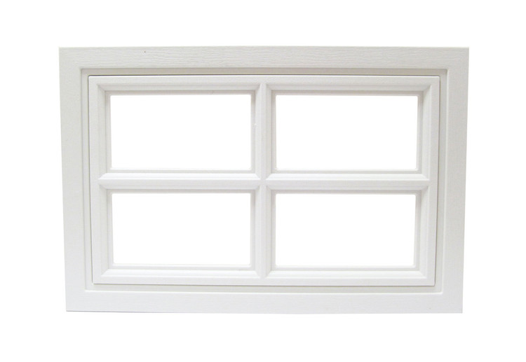 Garage Door Window 4 Lite Cross Design (1003)