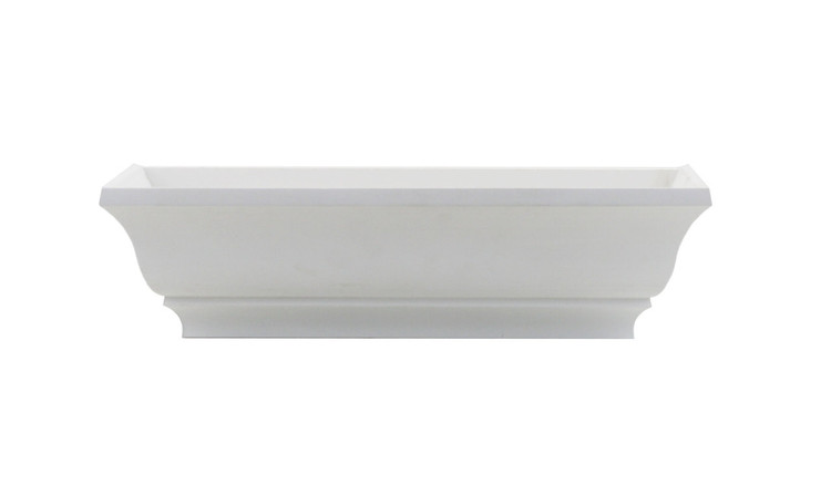 "18"" Decorative PVC Flower Box"