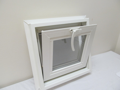 12 Quot X 12 Quot Awning Transom Insulated Glass Vinyl Window