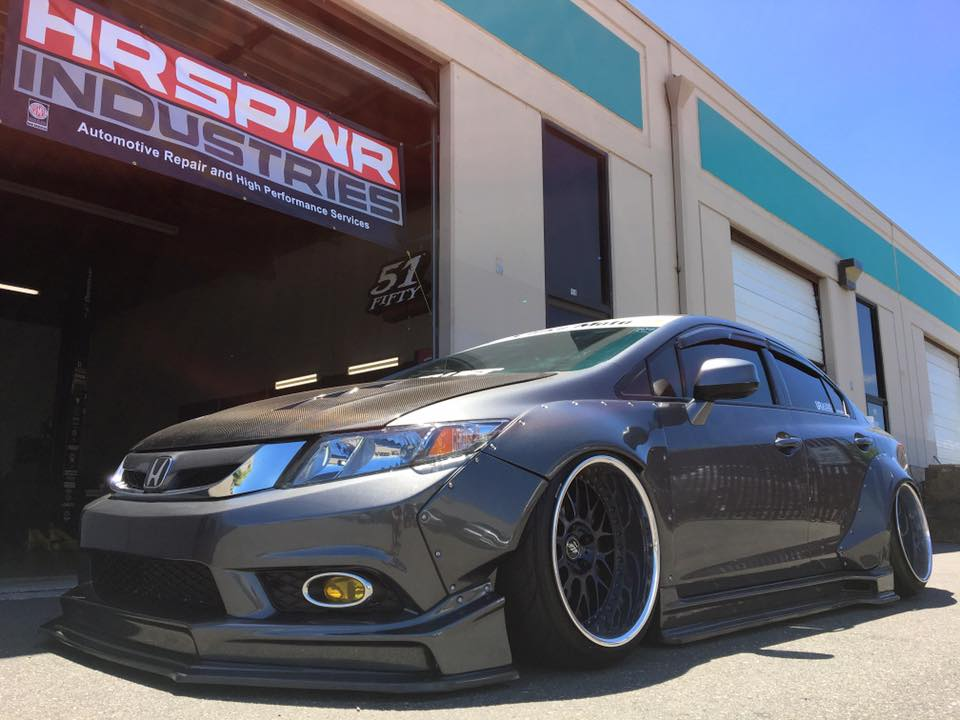 Kevin Chao 2013 Civic Si Wide Body