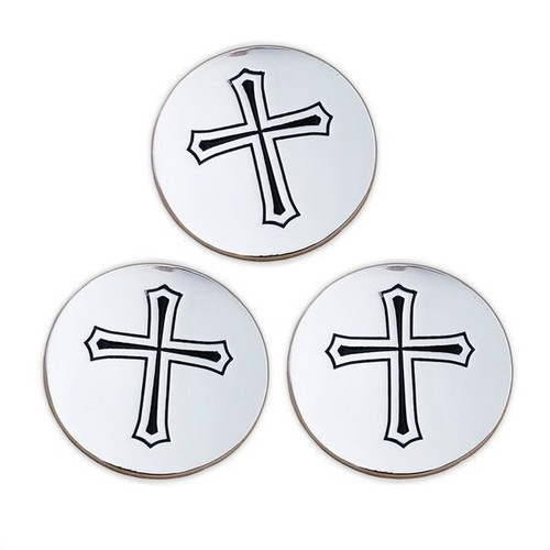 Stainless Steel Golf Ball Markers (Set of 3)