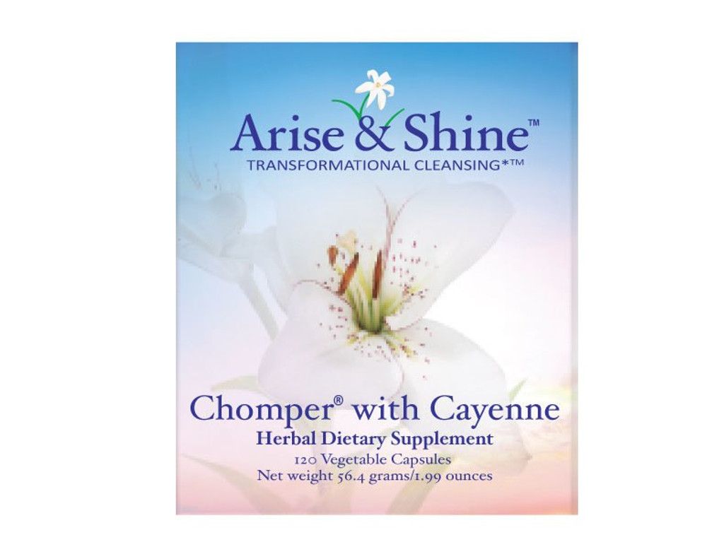 Chomper with Cayenne - 120 Capsules