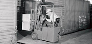 Clark Forklift 1967: The First Electric 3-wheel Lift Truck in the U.S.