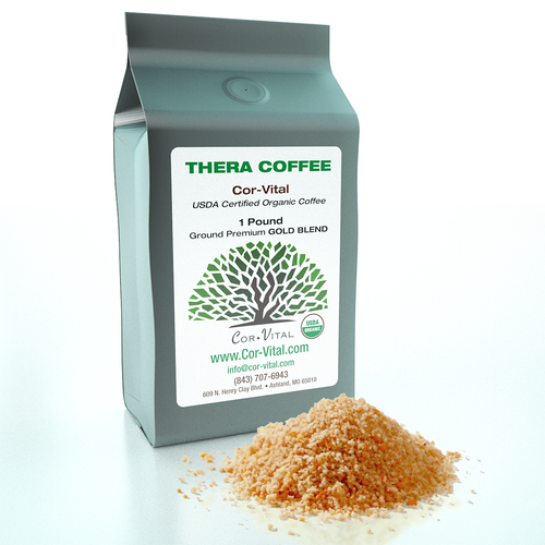 100% Organic USDA Green Beans Gold Blend Therapy Coffee - Specifically for DETOX.