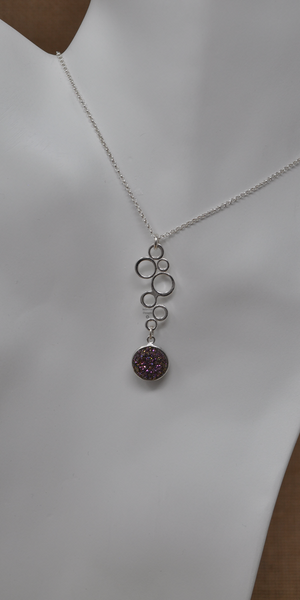 Fizzy Flair Necklace, by Infinitus Designs
