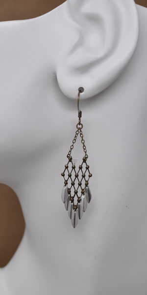 Lattice Earrings, by Infinitus Designs