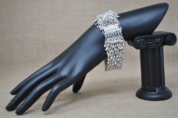 Stardust Bracelet with 7 loop clasp, by Infinitus Designs