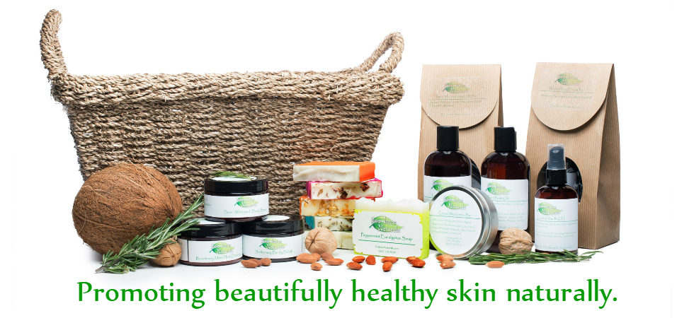Natural and vegan skin and hair care products.