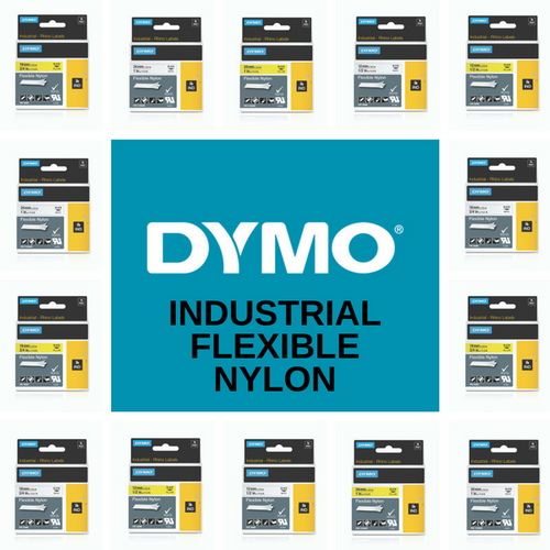 Rhino Flexible Nylon Industrial Ind Tape Range By Dymo