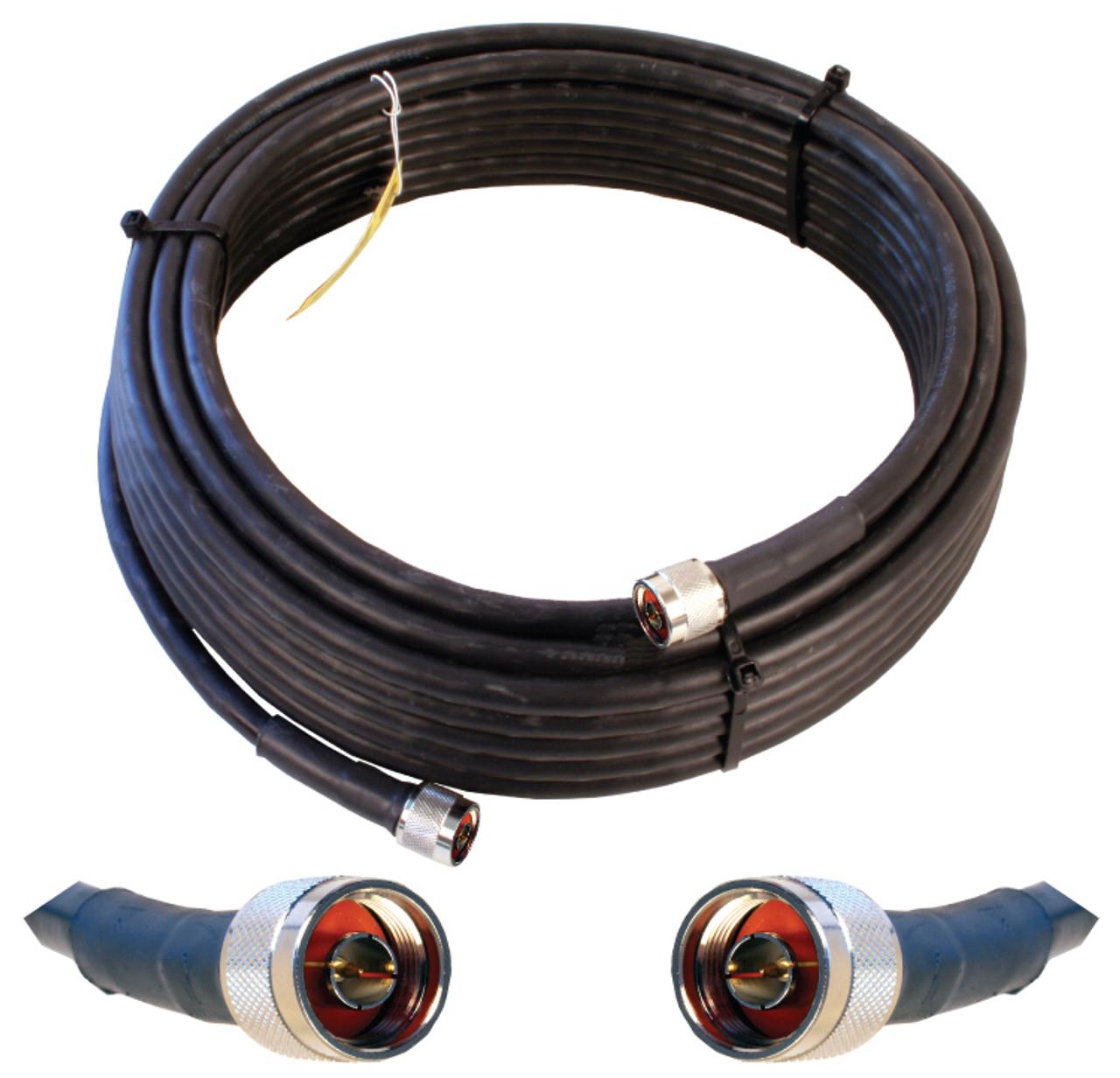 Wilson 952350 Coax Cable 50 Feet N-Male Conn