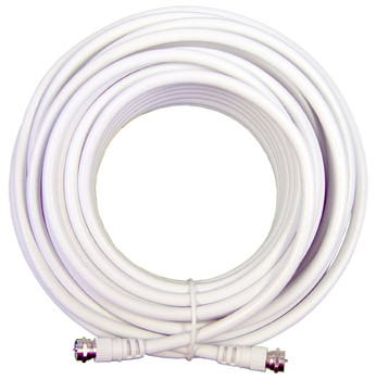 Wilson RG-6 50ft  Quad Shield Coax Cable F Male