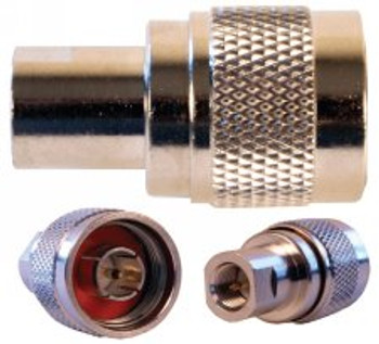 Threaded Screw On FME Male To N Male Adapter - 971113