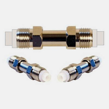 Threaded FME Female Splice Connector - 971121